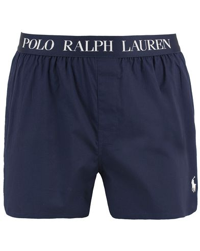 Polo Ralph Lauren Slim Fit Stretch Woven Boxer Navy i gruppen Kläder / Underkläder / Kalsonger hos Care of Carl (13594611r)