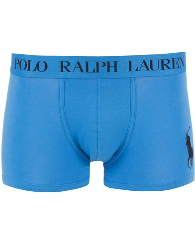 Polo Ralph Lauren Classic Stretch Big Pony Trunk Blue i gruppen Underkläder / Kalsonger hos Care of Carl (13594811r)