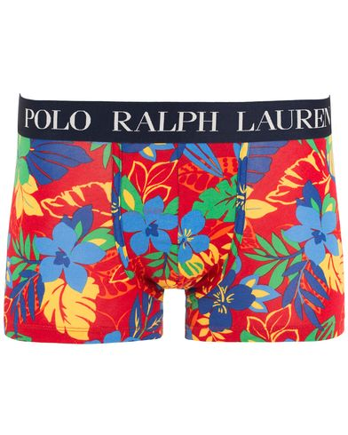 Polo Ralph Lauren Printed Flower Stretch Trunk Red i gruppen Kläder / Underkläder / Kalsonger hos Care of Carl (13595011r)