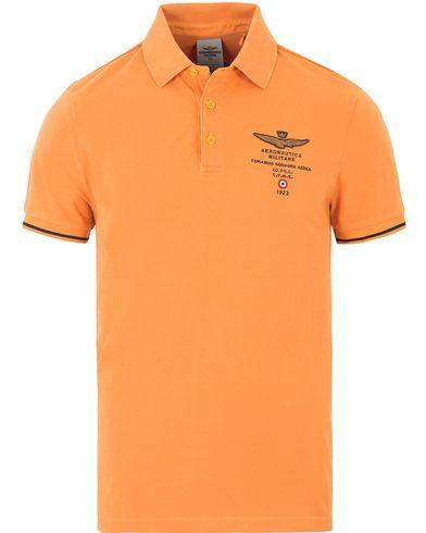 Aeronautica PO1159 Polo Orange i gruppen Pikéer / Kortärmade pikéer hos Care of Carl (13596211r)