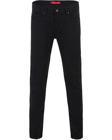 Hugo 734 Skinny Fit Stretch Jeans Black i gruppen Kläder / Jeans / Smala jeans hos Care of Carl (13599811r)