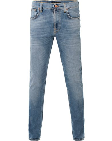 Nudie Jeans Lean Dean Organic Slim Fit Jeans Indigo Spirit i gruppen Jeans / Smala jeans hos Care of Carl (13601111r)