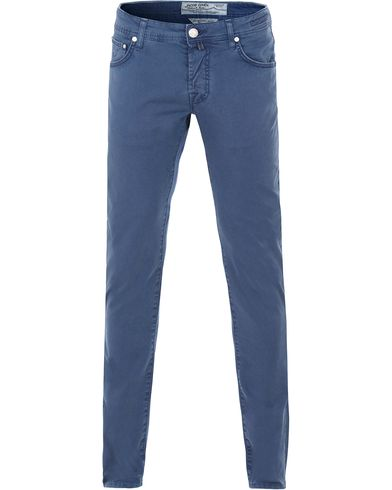 Jacob Cohen 622 5-Pocket Trousers Blue i gruppen Kläder / Byxor / 5-ficksbyxor hos Care of Carl (13614511r)