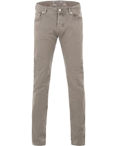 Jacob Cohen 622 5-Pocket Trousers Grey i gruppen Byxor / 5-ficksbyxor hos Care of Carl (13614911r)