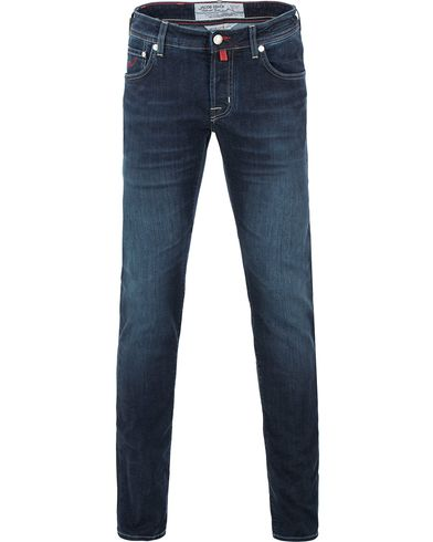 Jacob Cohen 622 Slim Jeans Dark Blue i gruppen Jeans / Smala jeans hos Care of Carl (13615811r)