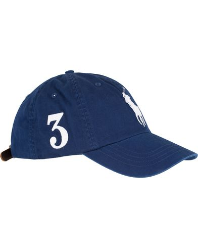 Polo Ralph Lauren Big Pony Cap Holiday Navy  i gruppen Accessoarer / Kepsar / Basebollkepsar hos Care of Carl (13617710)