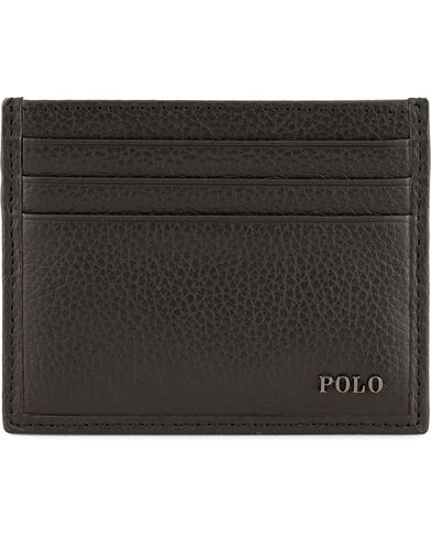 Polo Ralph Lauren Leather Cardcase Black  i gruppen Accessoarer / Plånböcker / Korthållare hos Care of Carl (13619010)