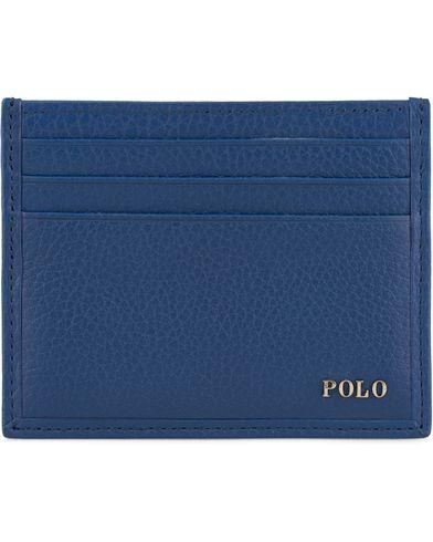 Polo Ralph Lauren Leather Cardcase Royal Blue  i gruppen Accessoarer / Plånböcker / Korthållare hos Care of Carl (13619210)