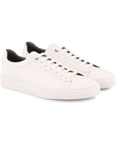 BOSS Temaker Leather Sneaker White i gruppen Skor / Sneakers / Låga sneakers hos Care of Carl (13620511r)
