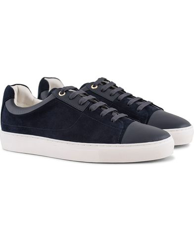 Boss Timeless Tenn Toe Cap Sneaker Navy i gruppen Skor / Sneakers / Låga sneakers hos Care of Carl (13620611r)
