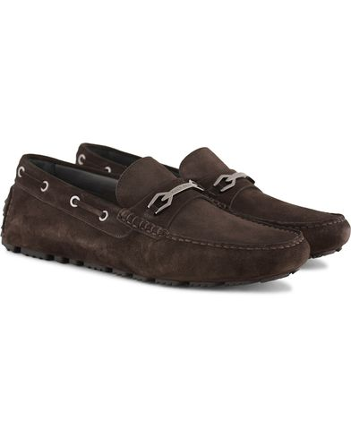 BOSS Driprin Car Shoe Brown i gruppen Skor / Bilskor hos Care of Carl (13620711r)