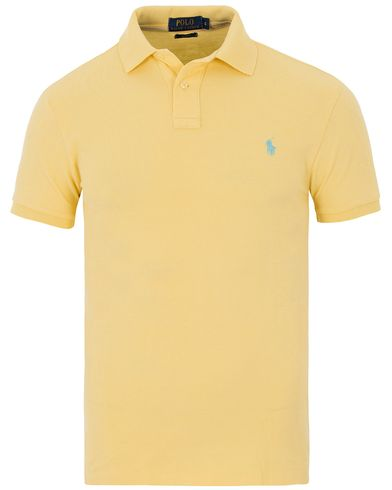 Polo Ralph Lauren Slim Fit Polo Banana Yellow i gruppen Pikéer / Kortärmade pikéer hos Care of Carl (13624211r)