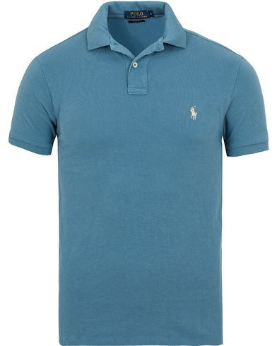 Polo Ralph Lauren Slim Fit Polo Blues i gruppen Pikéer / Kortärmade pikéer hos Care of Carl (13624811r)