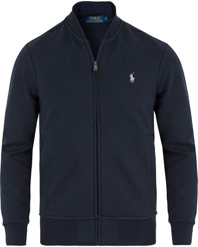 Polo Ralph Lauren Full Zip Sweater Navy i gruppen Tröjor / Zip-tröjor hos Care of Carl (13628011r)