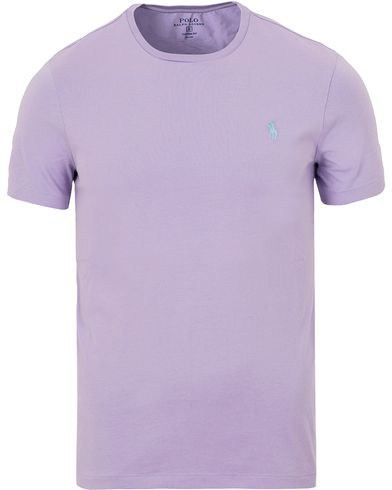 Polo Ralph Lauren Custom Fit Tee York Purple i gruppen Kläder / T-Shirts / Kortärmade t-shirts hos Care of Carl (13631811r)