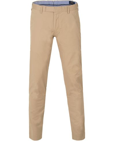 Polo Ralph Lauren Slim Fit Tailored Stretch Chinos Classic Khaki i gruppen Byxor / Chinos hos Care of Carl (13633211r)
