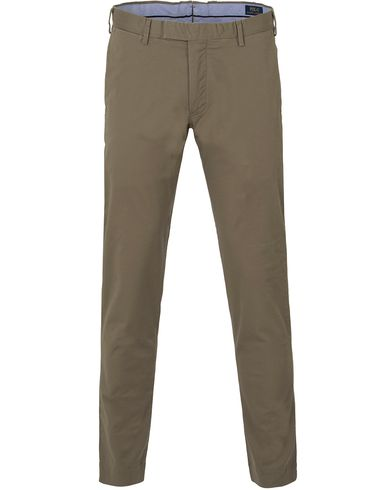 Polo Ralph Lauren Slim Fit Tailored Stretch Chinos Spring Loden i gruppen Kläder / Byxor / Chinos hos Care of Carl (13633611r)