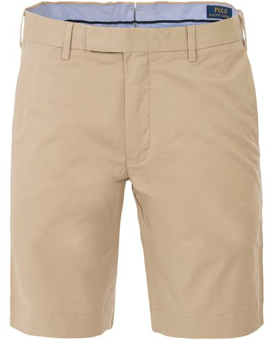 Polo Ralph Lauren Slim Fit Hudson Stretch Shorts Classic Khaki i gruppen Shorts / Chinosshorts hos Care of Carl (13633811r)