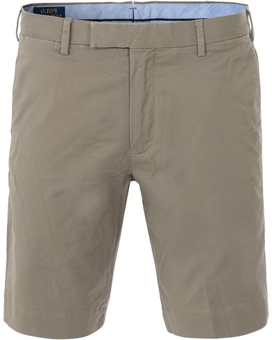 Polo Ralph Lauren Slim Fit Hudson Stretch Shorts Spring Loden i gruppen Shorts / Chinosshorts hos Care of Carl (13634011r)