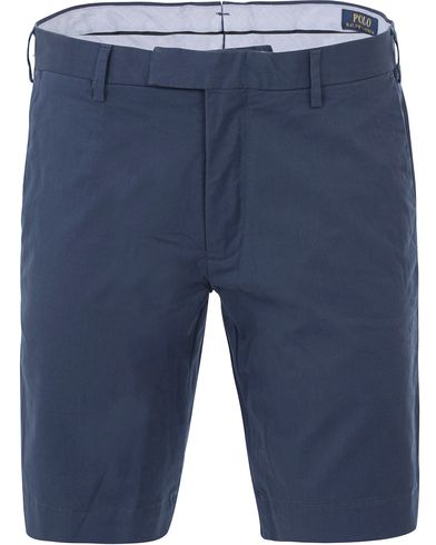 Polo Ralph Lauren Slim Fit Hudson Stretch Shorts Rustic Navy i gruppen Shorts / Chinosshorts hos Care of Carl (13634111r)