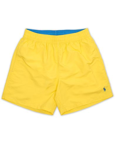 Polo Ralph Lauren Hawaiian Boxer Swimtrunks Hampton Yellow i gruppen Badbyxor hos Care of Carl (13636611r)