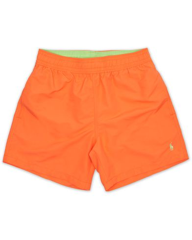 Polo Ralph Lauren Hawaiian Boxer Swimtrunks Electric Melon i gruppen Badbyxor hos Care of Carl (13636811r)