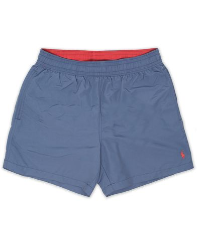 Polo Ralph Lauren Hawaiian Boxer Swimtrunks River  Blue i gruppen Badbyxor hos Care of Carl (13637411r)