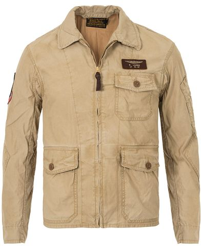 Polo Ralph Lauren Flight Jacket Gallery Tan i gruppen Kläder / Jackor / Tunna jackor hos Care of Carl (13638811r)