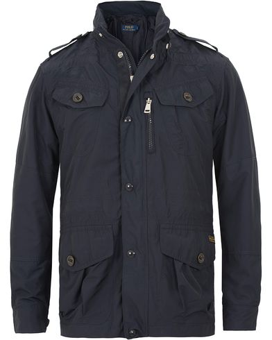 Polo Ralph Lauren Combat Jacket Navy i gruppen Jackor / Tunna jackor hos Care of Carl (13639311r)