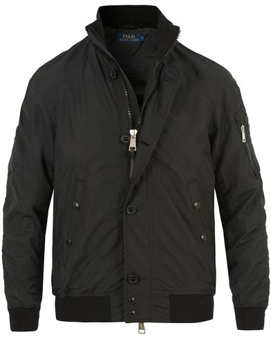 Polo Ralph Lauren Troops Bomber Jacket Polo Black i gruppen Jackor / Bomberjackor hos Care of Carl (13639411r)