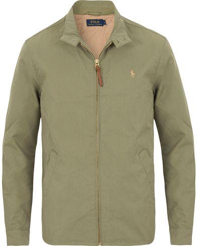 Polo Ralph Lauren Baracuda Jacket Spanish Green i gruppen Jackor / Tunna jackor hos Care of Carl (13639711r)