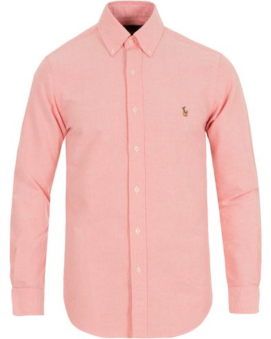 Polo Ralph Lauren Slim Fit Oxford Shirt Orange i gruppen Skjortor / Oxfordskjortor hos Care of Carl (13642611r)
