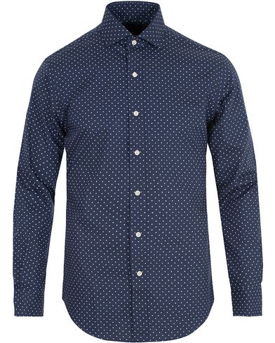 Polo Ralph Lauren Slim Fit Dot Shirt Spring Blue i gruppen Kläder / Skjortor / Casual skjortor hos Care of Carl (13643311r)