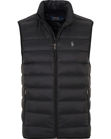 Polo Ralph Lauren Lightweight Down Vest Polo Black i gruppen Jackor / Yttervästar hos Care of Carl (13645711r)