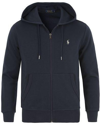 Polo Ralph Lauren Zip Hood Sweatshirt Aviator Navy i gruppen Tröjor / Huvtröjor hos Care of Carl (13647911r)