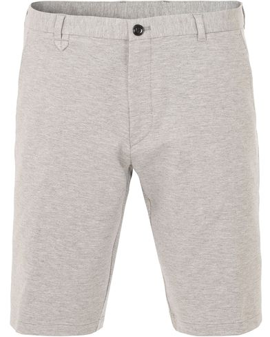 Hugo Hano Jersey Shorts Open Grey i gruppen Design A / Shorts / Träningsshorts hos Care of Carl (13648311r)