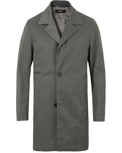 BOSS Dais Water Repellent Coat Green i gruppen Kläder / Jackor / Rockar hos Care of Carl (13649511r)