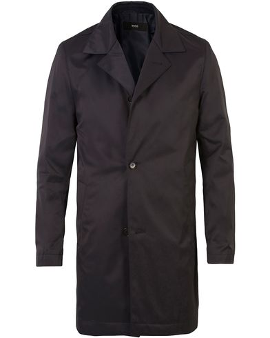 BOSS Dais Water Repellent Coat Dark Blue i gruppen Kläder / Jackor / Rockar hos Care of Carl (13649611r)