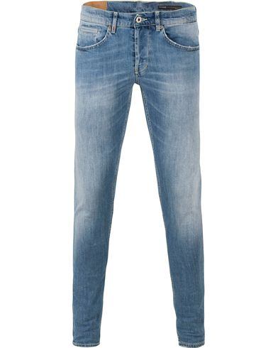 Dondup George Jeans Medium Blue i gruppen Jeans / Avsmalnande jeans hos Care of Carl (13654711r)