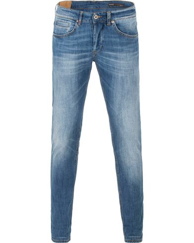 Dondup George Jeans Medium Blue i gruppen Jeans / Smala jeans hos Care of Carl (13654811r)