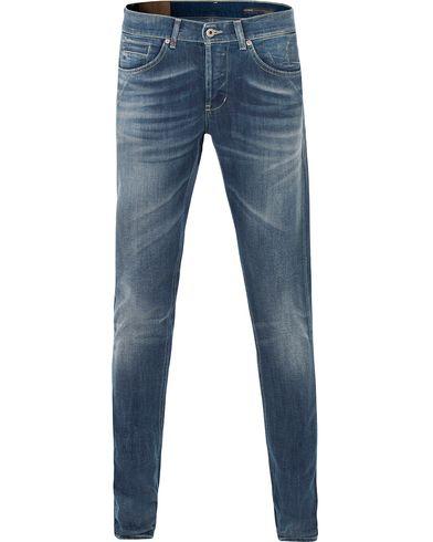 Dondup George Jeans Dark Blue i gruppen Design A / Jeans / Smala jeans hos Care of Carl (13654911r)