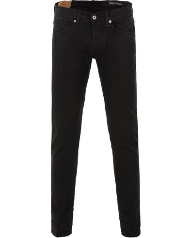 Dondup George Jeans Washed Black i gruppen Jeans / Smala jeans hos Care of Carl (13655111r)