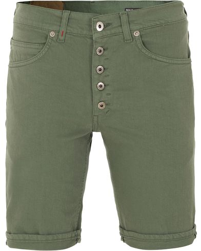 Dondup Derek Shorts Army Green i gruppen Kläder / Shorts / Jeansshorts hos Care of Carl (13655211r)