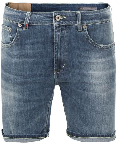 Dondup Derek Jeans Shorts Washed Blue i gruppen Kläder / Shorts / Jeansshorts hos Care of Carl (13655511r)
