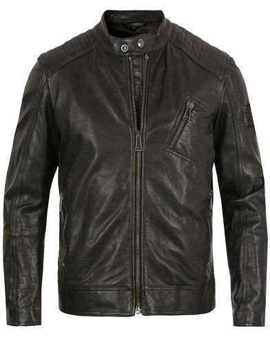 Belstaff V Racer Leather Jacket Black i gruppen Kläder / Jackor / Skinnjackor hos Care of Carl (13660711r)