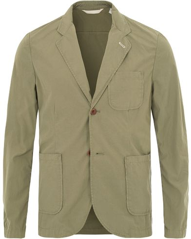 Gant Rugger Cotton Blazer Highland Green i gruppen Design A / Kavajer / Enkelknäppta kavajer hos Care of Carl (13666511r)
