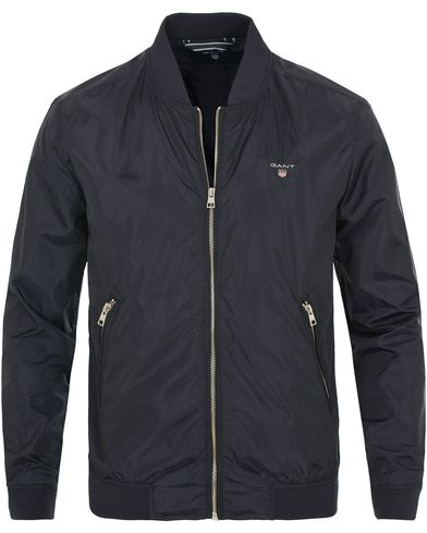 GANT Airy Nylon Bomber Jacket Navy i gruppen Kläder / Jackor hos Care of Carl (13670511r)