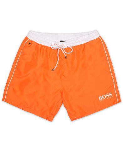 BOSS Starfish Swimshorts Orange i gruppen Kläder / Badbyxor hos Care of Carl (13686611r)
