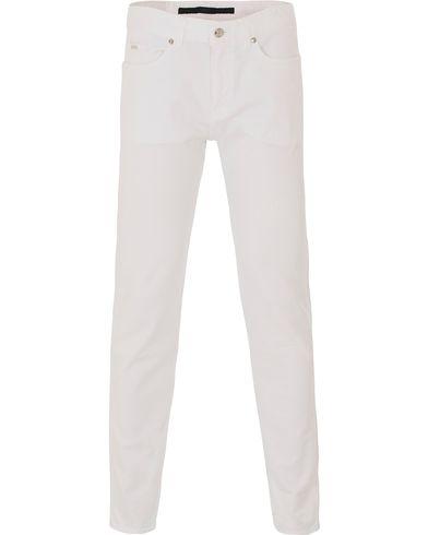 Boss Delaware 3 Jeans White i gruppen Jeans / Smala jeans hos Care of Carl (13687511r)