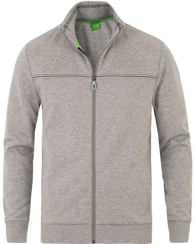 Boss Green Skaz Full Zip Grey Melange i gruppen Tröjor / Zip-tröjor hos Care of Carl (13689911r)